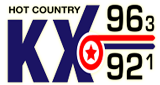 KX 96 FM Hot Country
