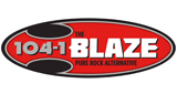 The Blaze 104.1 FM – KIBZ-FM