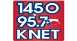 KNET 1450 AM/95.7 FM